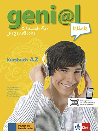 Geni@l klick. A2. Kursbuch. Per la Scuola media. Con CD Audio: geni@l klick a2, libro del alumno + cd por Theo Scherling