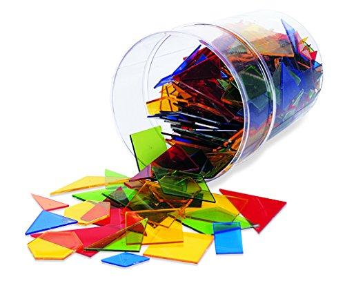 Learning Resources - Juego de construcción para niños (450 piezas, 15 formas),...