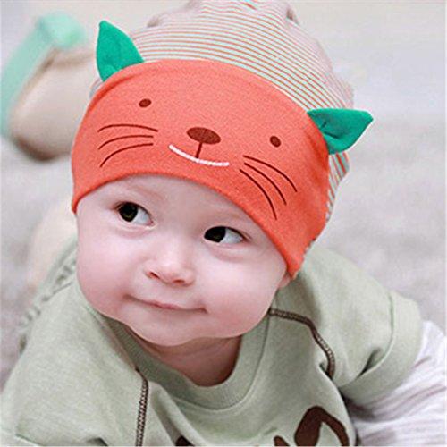 6d3ada90813f Frbelle® 3D Chat Bonnets Nouveau né Coton Unisexe Bébé Garçon Fille Idée  Cadeau Naissance 3