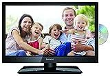 Lenco DVL-1962BK 19 Zoll LED-Fernseher (47 cm) mit DVD-Player und DVB-T2 HD, Triple-Tuner und 12 Volt Kfz-Adapter (HD Ready, HDMI, USB, SCART, CI+), Schwarz