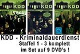 KDD - Kriminaldauerdienst - Staffel 1-3 (9 DVDs)