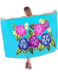 La Leela Wrap Sarong Cover ups Dress Beach Holiday Bikini Bathing Suit Beachwear Swimsuit Swimwear Pareo