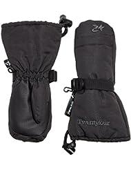 Twentyfour Elbrus Moufles Enfants - Moufles avec doublure Thinsulate Noir Noir