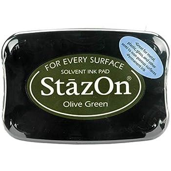Light Green Tsukineko StazOn Stamp Pad
