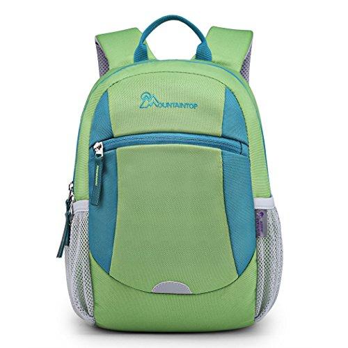 Acheter Mountaintop petits enfants sac à dos pour l'école maternelle garçon et fille cartable unisexe mignon (vert, 5L)