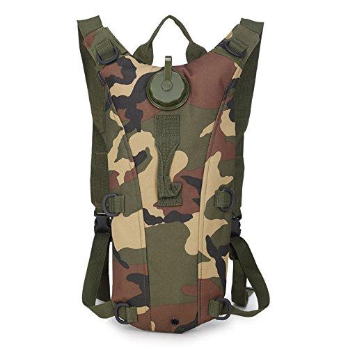 Wasserdichte Tasche Tasche -, Linien -, Rucksack, Rucksack Falten, Outdoor - Aktivitäten Camouflage C