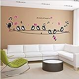 HOLnhyYY We Love You To The Moon Y Back Star Cotizaciones Etiqueta De La Pared Vinilo Wallpaper Decal DIY Home Art Decor Extraíble 118 * 61 Cm