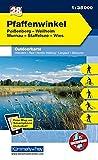 Deutschland Outdoorkarte 28 Pfaffenwinkel 1 : 35.000: Peißenberg, Weilheim, Murnau, Staffelsee, Wies. Wanderwege, Radwanderwege, Nordic Walking (Kümmerly+Frey Outdoorkarten Deutschland) -