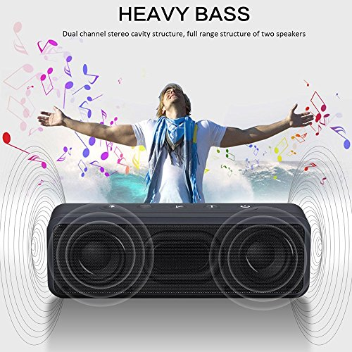 BassPal SoundRo X3 Altoparlante Bluetooth