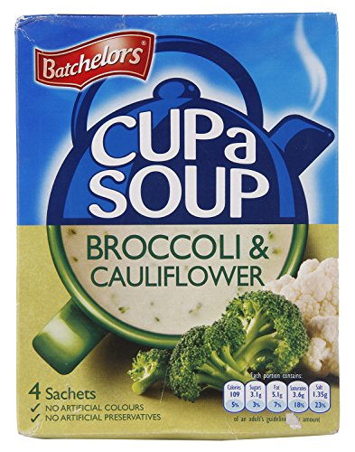 Batchelors Cup a Soup, Creamy Cauliflower and Broccoli, 101g