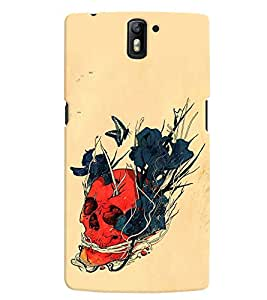 OnePlus One MULTICOLOR PRINTED BACK COVER FROM GADGET LOOKS