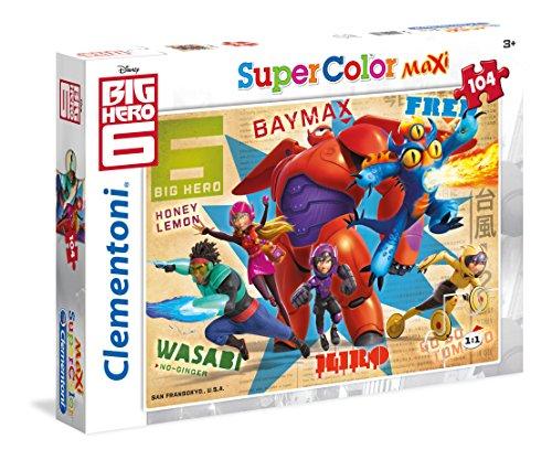 Clementoni 23672.5 - Maxi 104 T Big Hero 6.Thrusters on , Klassische Puzzle - 6 Hero Big Spielzeug