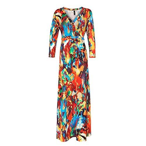 YL - Robe - Sans bretelle - Femme XXXXXL Orange