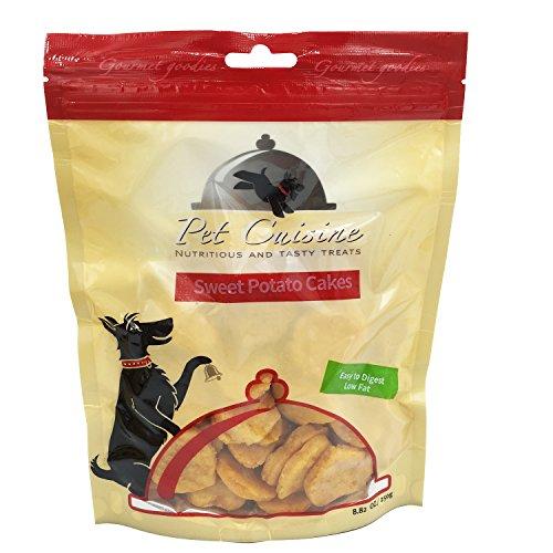 Pet Cuisine Hundeleckerli Hundesnacks Welpen Kausnacks, Süßkartoffel Herzform Hundekekse, 250g