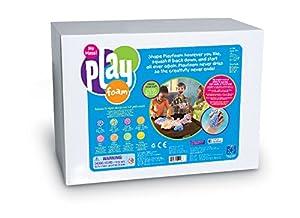 Learning Resources Aula de Espuma para Juegos Playfoam, Set de 16 Bloques, Color (EI-9268)