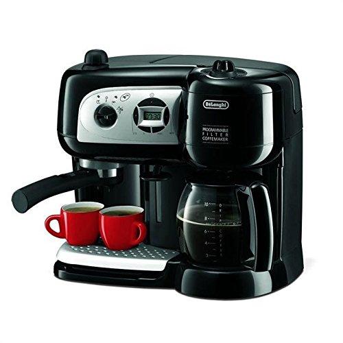 DeLonghi BCO264.1 Espressomaschine und Kaffeemaschine in einem, mit Pumpe, schwarz, 38x 24x...