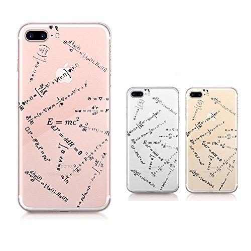 Qissy®TPU Case für iPhone 7 Plus Silikon-Hülle Soft Shell Fall Anti Shock Silikon Anti-Staub-beständig Leichtes Ende mit Glänzende Einzigartiges Persönlichkeitsdesign (iPhone 7 Plus 5,5 Zoll, 3) 6