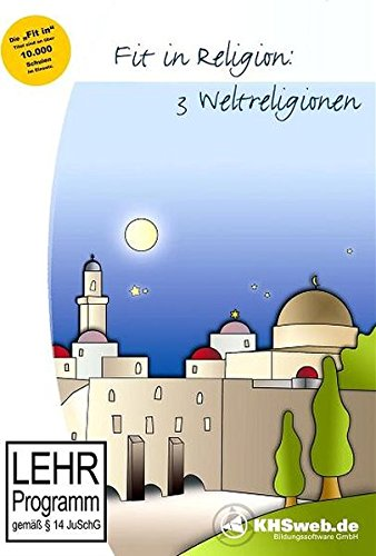 Fit in Religion: 3 Weltreligionen