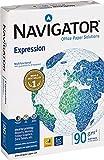 Navigator Expression COP090C1 Lot de 500 feuilles de papier pour imprimante à jet d'encre 90 g/m² Blanc brillant A4