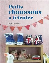 Petits chaussons à tricoter