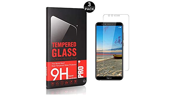 3D Touch Anti Rayures Protection en Verre Tremp/é /Écran pour Huawei Honor 10 Lite Sans Bulles Bear Village/® 9H Verre Tremp/é Huawei Honor 10 Lite 2 Pi/èces