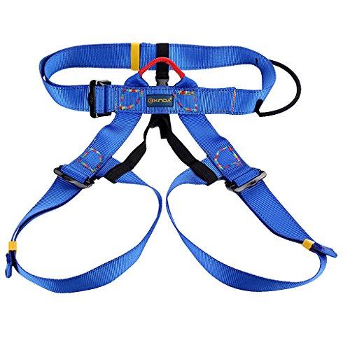 Imbracatura Cintura di Sicurezza per Arrampicata, Outdoor la Fuga Piano, Discesa in Corda Doppia - Blu