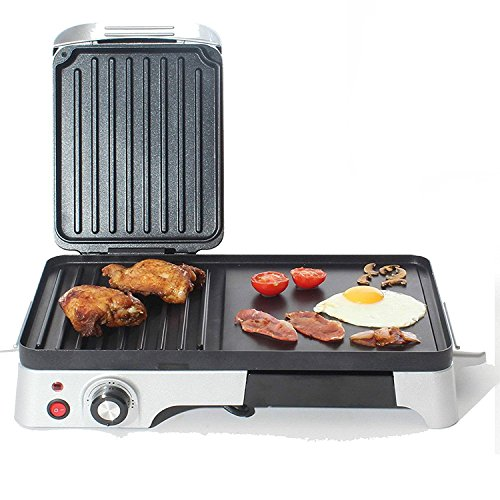 charles-jacobs-2200w-large-electric-grill-griddle-with-variable-temperature-control-silver
