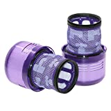 Fxhan Vacuum Cleaner Accessories Filter Replacement Washable Compatible for D-yson V11