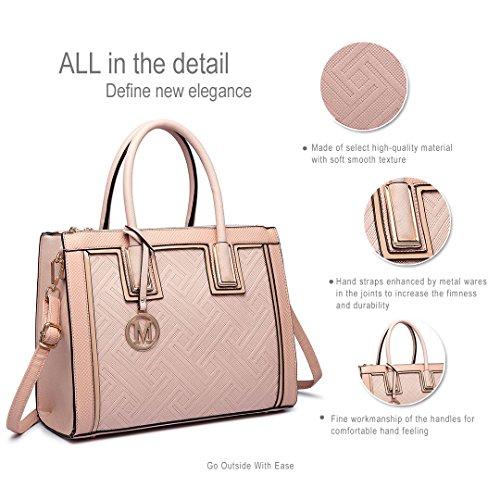 Miss Lulu ,  Damen Tasche 6622 Apricot