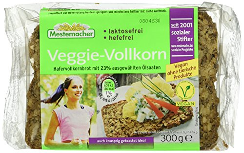 Mestemacher Veggie Vollkorn, 9er Pack (9 x 300 g)