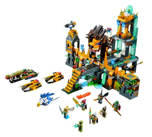 LEGO Legends Of Chima - Set de juego The Lion CHI Temple (70010)