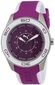 Puma Damen-Armbanduhr Tube 3Hd Analog Quarz Plastik PU103032002