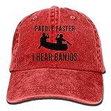 Men Women Sport Denim Adjustable Dad Hat Funny Middle Finger Alien Multicolored Low Profile Baseball Cap Great Gift for Unisex Friends Family Black