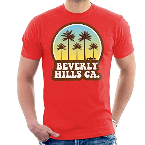 Coto7 Beverly Hills California 70s Beach Drive Men's T-Shirt