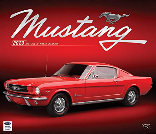 Mustang 2020 Calendar: Foil Stamped Cover par Browntrout Publishing