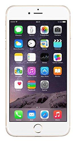 Apple iPhone 6s Plus Smartphone débloqué 4G (Ecran : 5,5 pouces 16 Go Nano-SIM iOS Or