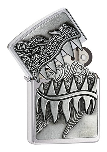zippo-fire-breathing-dragon-surprise-windproof-lighter-brushed-chrome