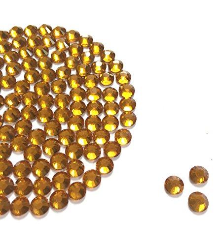 Diamante Me strass en verre Doré DMC (hotifx/Fer Sur) 500 x 6mm doré