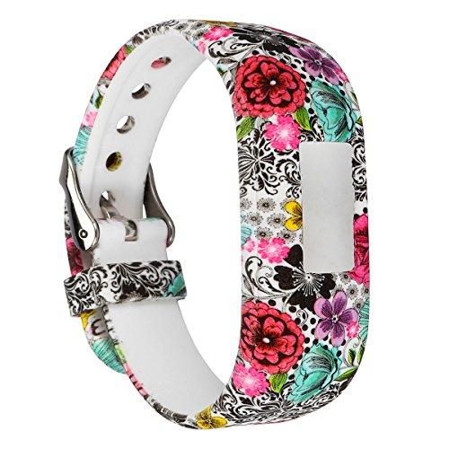TENGGO Ersatz Uhren Band Armband Für Garmin Vivofit Jr Junior Tracker-#01