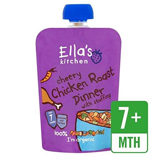 Preisvergleich Produktbild Ella's Kitchen Cheery Chicken Roast Dinner With Stuffing Stage 2 From 7 Mths 130G