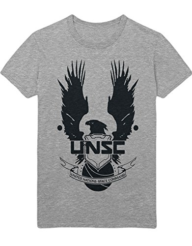 T-Shirt Halo UNSC Eagle Z100057 Grau XXXL