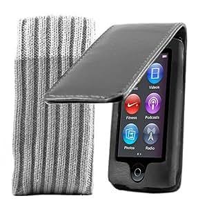Kolay Flip Case Cover for Apple iPod Nano 7th Generation - Black