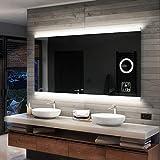 FORAM Design badkamerspiegel met LED-verlichting wandspiegel badkamerspiegel op maat