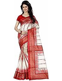 BuyOnn Sarees For Women Latest Design Party Wear Multi Color Tafeta Silk Sarees New Collection Party Wear Saree...