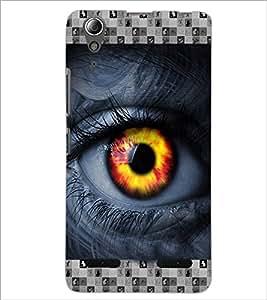 PrintDhaba Eye D-3615 Back Case Cover for LENOVO A6000 PLUS (Multi-Coloured)
