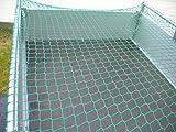 RETE PER RIMORCHIO con corda in gomma 2,2x 1,2m knotenlos 220x 120cm-Rete Container