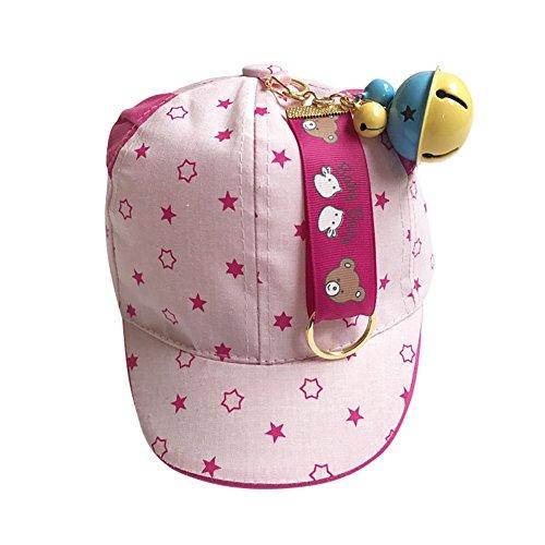 Blaward cappello baseball bambino unisex orecchie berretto con visiera neonato