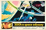 2001: A Space Odyssey Movie Poster - Stanley Kubrick Kunstdruck