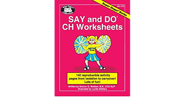 Amazonin Buy Say And Do Ch Worksheets Book Online At Low Prices In