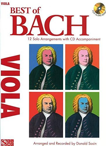 Best of Bach: 12 Solo Arrangements with CD Accompaniment, for Viola (2009-12-01)